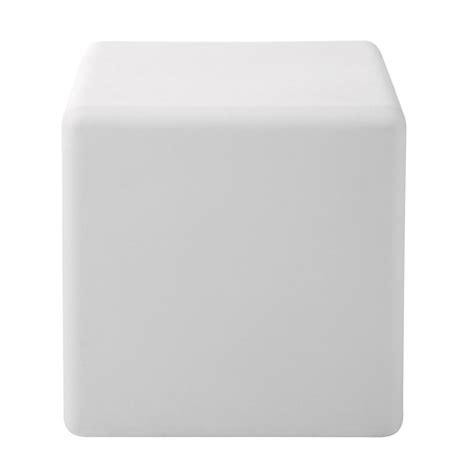 cube lumineux 40 cm cube lumineux multicolore 40 x 40 cm maisons du monde