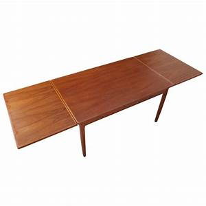 Extendable, Dining, Table, With, Two, Pull