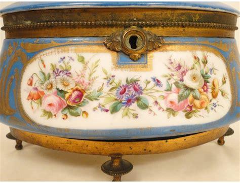 chocolate box s 232 vres porcelain marquise de sevigne nineteenth