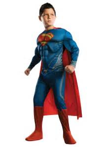 party rental dc deluxe of steel superman child costume