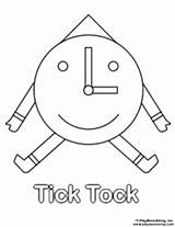 Tick Coloring Tock Pages Sunny Sukey Welcome Sheets sketch template