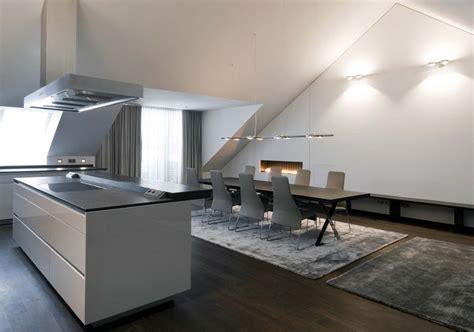 Küche Im Dachgeschoss by Maisonette Im Dachgeschoss Muenchenarchitektur