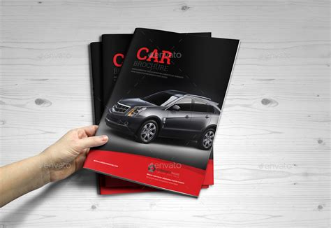 Automobile Brochure Design by Automotive Car Brochure Catalog Indesign Template By