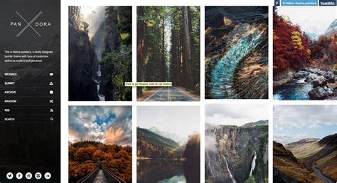 photography tumblr themes mobile ready