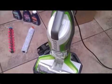 bissell crosswave review youtube