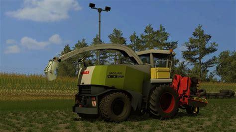 claas jaguar  ls mod mod  farming simulator