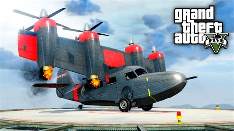 Helicopter Plane Hybrid! (gta