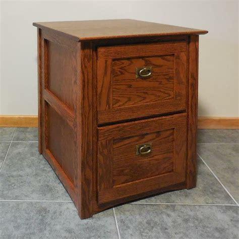 authentic mission  drawer file cabinet solid oak  ebay
