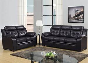 Espresso apartment size casual contemporary bonded leather for Apartment size leather furniture