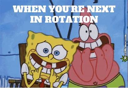 Weed Memes Funny Rotation Spongebob Marijuana Morning