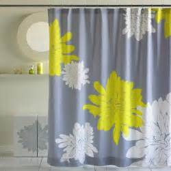 Yellow And Grey Shower Curtain Gallery