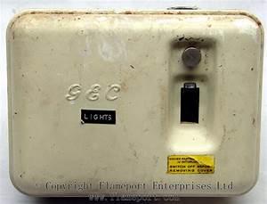 Gec Metal 3 Way Fusebox