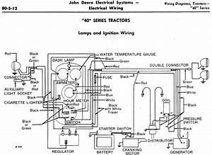 John Deere 6 Volt Wiring Diagram