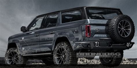 2020 Ford Bronco 4 Door by Let S Talk About 4 Door 2020 Ford Bronco Concept