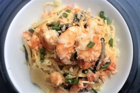 Champagne Shrimp Pasta