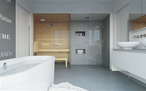 Grundriss Bad Mit Sauna Wohndesign