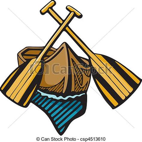 Canoe Boat Clipart by Paddle Boats Clipart Clipground