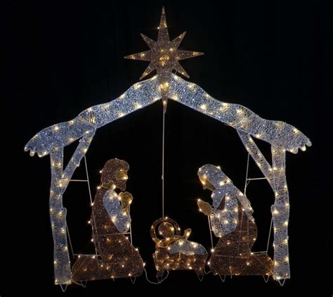 lighted outdoor nativity set outdoor lighted nativity sets for sale outdoorlightingss com