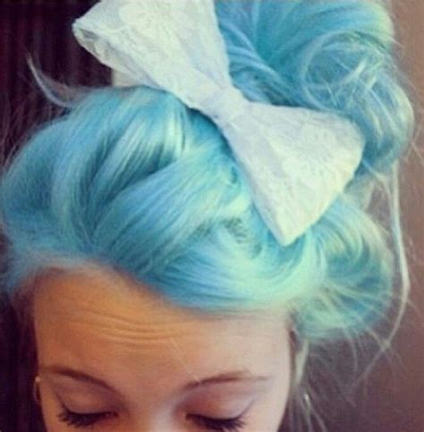 Best 25 Light Blue Hair Ideas On Pinterest Pastel Blue