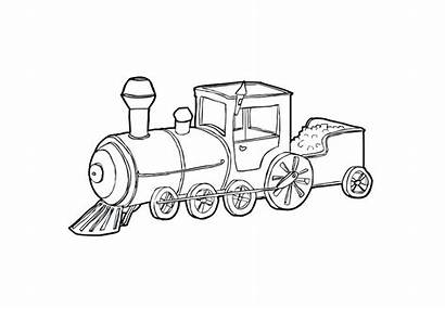 Train Steam Coloring Pages Printable Getcolorings