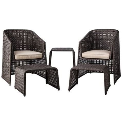 Threshold Patio Furniture 5 Conversation Set by The World S Catalog Of Ideas