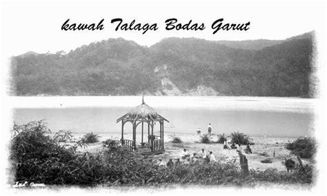 foto tempat wisata kawah talaga bodas  garut tempo dulu