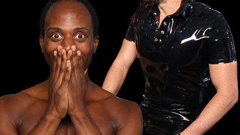 Men Try Latex For The First Time Youtube