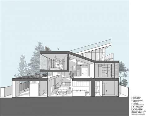 house drawings plans maximum garden house formwerkz architects garden