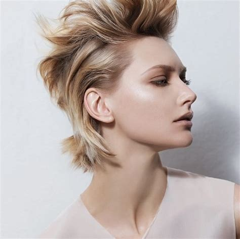 party hairstyles for short hair elle hairstyles