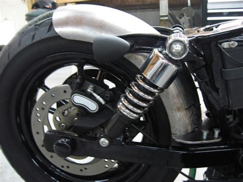 Harley Rear Swingarm Mounted Fenders