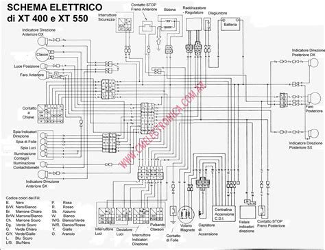 yamaha xt 550 wiring diagram wiring diagram yoy
