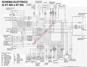 Diagrama Yamaha Xt400 Xt550
