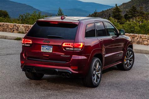 jeep grand cherokee trackhawk  drive review