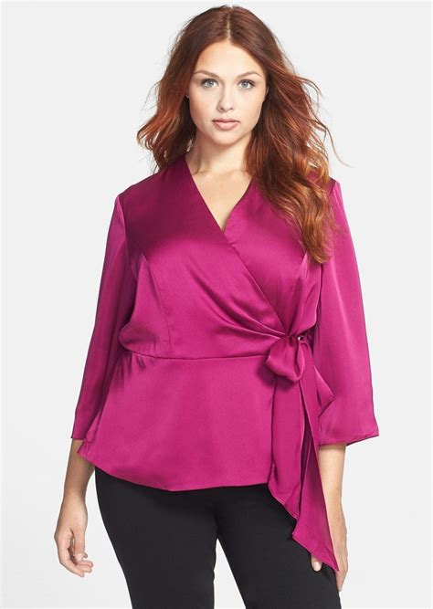 plus size silk blouses plus size fuchsia blouse silk blouses