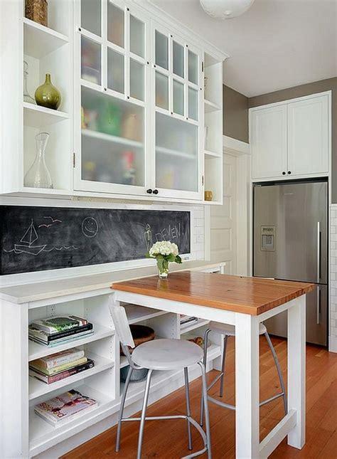 Une mini salle à manger mais un maxi confort