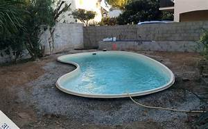 Piscine Semi Enterrée Coque : les diff rents types de piscine ~ Melissatoandfro.com Idées de Décoration