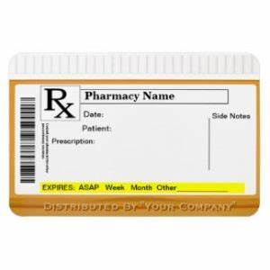 fake rx label template printable label templates With fake medication labels
