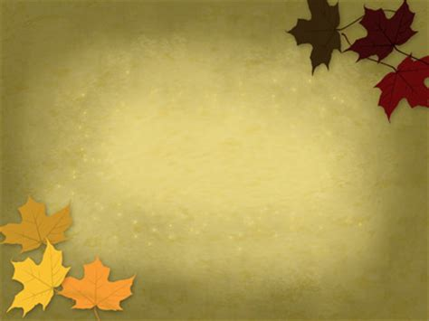 Fall Backgrounds Powerpoint by Image Scattered Leaves Powerpoint Themes Rainbow