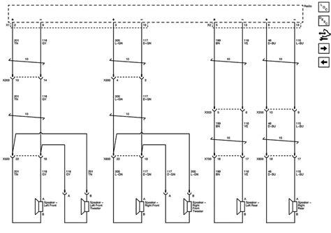 2011 acadia radio wiring diagram acadia fuse diagram