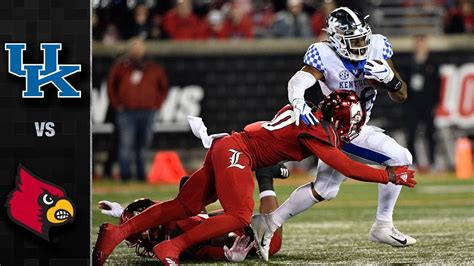 49+ Kentucky V Louisville Football  Pics