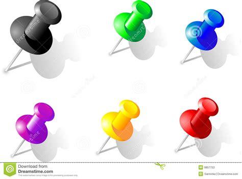 drawing pin stock vector illustration  decorating