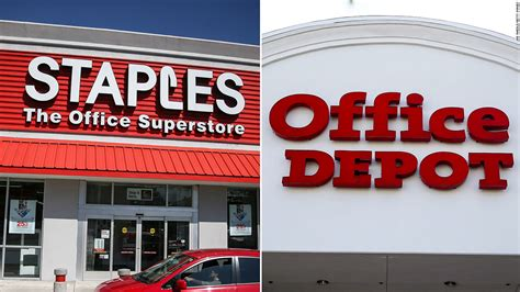 Office Depot Staples staples and office depot abandon merger business