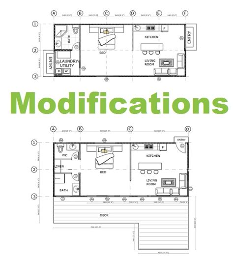 floor plans you can modify shipping container home floorplans
