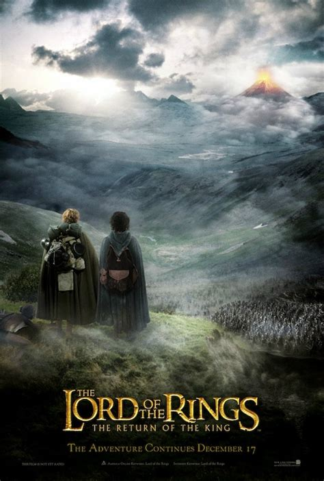 The Lord Of The Rings The Return Of The King Dramastyle