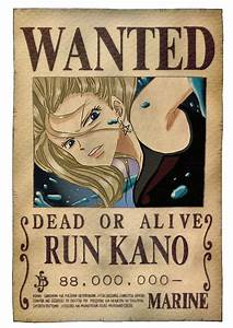 One Piece Wanted Poster by RunKano on DeviantArt