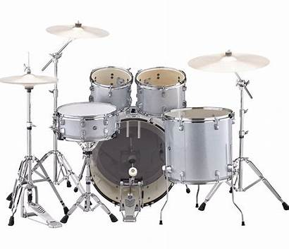 Yamaha Rydeen Drum Silver Kit Glitter Hardware
