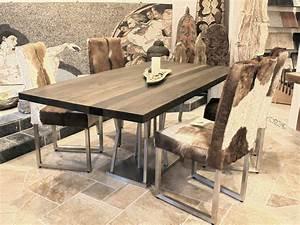 Bastelschrank Mit Tisch : esstisch mit tischgestell aus edelstahl 200 x 100 cm der ~ A.2002-acura-tl-radio.info Haus und Dekorationen