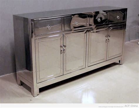 Metal Sideboard Buffet by Contemporary Asian Stainless Steel Furniture Asian