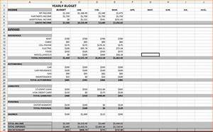 Budgeting spreadsheet template haisume for Budget to actual template