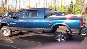 2006 Dodge Ram 2500 Mega Cab Slt 4wd Blue Enumclaw 12141a